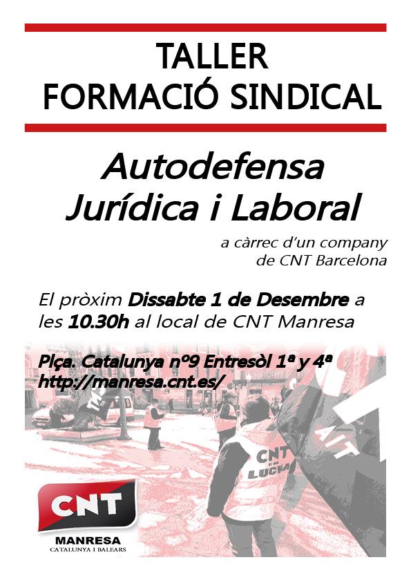 Cartel formació sindical